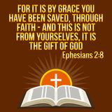 Citation de motivation chrétienne Vers de bible Le soleil croisé et brillant illustration stock