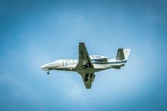 Citazione XLS di principe Aviation Cessna 560XL di YU-SPB Fotografia Stock Libera da Diritti