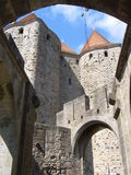 Cite de Carcassonne (France ) Royalty Free Stock Images