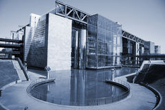 Cite des Sciences et de I'Industrie Royalty Free Stock Image