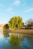 Cite island in Paris, France. Royalty Free Stock Photo