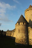 Cite medievale of Carcassone Stock Images