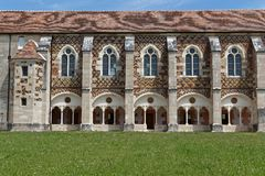 Library of Citeaux Abbey Stock Photos