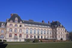 Citera Internationale Universitaire de Paris - Frankrike Fotografering för Bildbyråer
