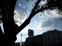Citgo podpisuje, Kenmore Square, Boston, Massachusetts, usa zdjęcia stock