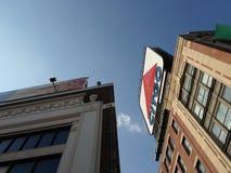 Citgo podpisuje, Kenmore Square, Boston, Massachusetts, usa zdjęcie royalty free