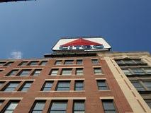 Citgo podpisuje, Kenmore Square, Boston, Massachusetts, usa obraz stock
