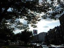 Citgo podpisuje, Kenmore Square, Boston, Massachusetts, usa zdjęcia royalty free