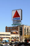 Citgo Sign, Boston Landmark Royalty Free Stock Photo