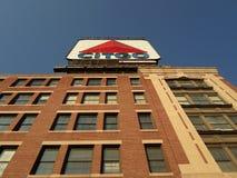 Citgo sign, Kenmore Square, Boston, Massachusetts, USA royalty free stock photography