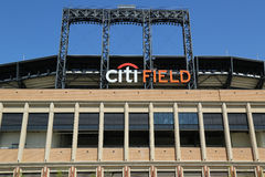 Citi领域,棒球协会队的家纽约大都会 库存图片