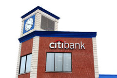 Citi Bank Branch Royalty Free Stock Images