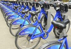 Citi Bike display, New York City Stock Images