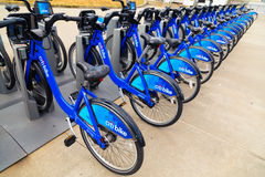 Citi Bike - New York City Royalty Free Stock Photography