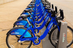 Citi Bike - New York City Royalty Free Stock Image