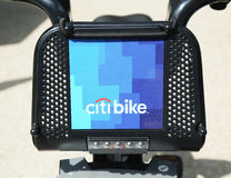 Citi bike ready for business in New York Stock Photography