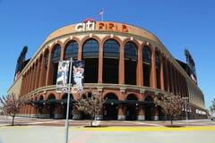 Citi fält, hem av högre serie i basebolllaget New York Mets Fotografering för Bildbyråer