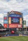Citi fält, hem av högre serie i basebolllaget New York Mets Arkivbild