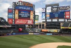 Citi fält, hem av högre serie i basebolllaget New York Mets Arkivfoton