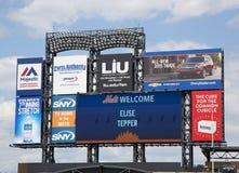 Citi fält, hem av högre serie i basebolllaget New York Mets Royaltyfri Fotografi