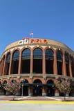 Citi fält, hem av högre serie i basebolllaget New York Mets, i att spola, NY Arkivbilder