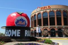Citi fält, hem av högre serie i basebolllaget New York Mets, i att spola, NY Royaltyfri Foto