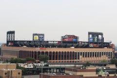Citi-Feld, Haus des Teams der obersten Baseballliga die New York Mets bei der Spülung, NY Stockbild