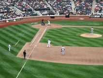 Citi Field Baseball Players - New York City Stock Photo