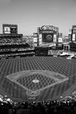 Citi Field - Black and White stock photos