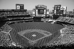 Citi Field - Black and White Royalty Free Stock Photos