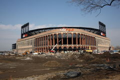 Citi Field Construction Stock Image