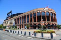 Citi Field, home of major league baseball team the New York Mets. FLUSHING, NEW YORK - SEPTEMBER 5, 2017: Citi Field, home of major league baseball team the New royalty free stock image