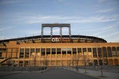 Citi Field, home of major league baseball team the New York Mets. FLUSHING, NY - APRIL 8: Citi Field, home of major league baseball team the New York Mets on stock image