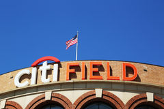 Citi Field, home of major league baseball team the New York Mets in Flushing, NY Royalty Free Stock Images