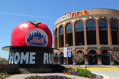 Citi Field, home of major league baseball team the New York Mets in Flushing, NY Royalty Free Stock Photo