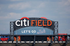 Citi Field, home of major league baseball team the New York Mets Royalty Free Stock Photo