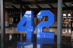 Citi Field - Jackie Robinson Memorial Royalty Free Stock Images