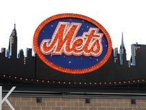 Citi Field - Mets Logo Stock Image