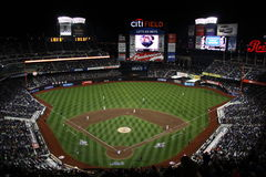 Citi Field Night Game Stock Images
