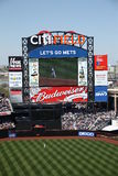 Citi Field Scoreboard Royalty Free Stock Photography