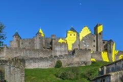 Citi il de Carcassonne, Francia fotografia stock libera da diritti