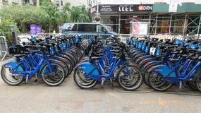 Citi rowery obrazy stock
