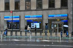 Citibank branch Royalty Free Stock Images
