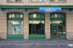 Citibank Stock Photo