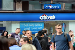 Citibank Royalty Free Stock Image