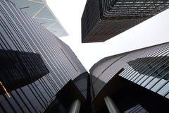 Citibank & ICBC Towers & Bank of China. Royalty Free Stock Photos
