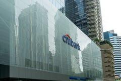 Citibank sign stock photo