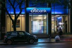 Citibank verzweigen sich Stockbild