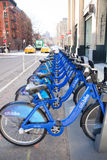 Citibike Bicycle Share Stock Image