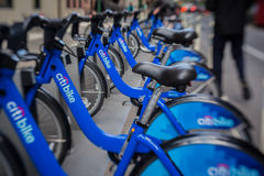 Citibike New York City Royalty Free Stock Image
